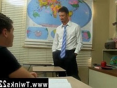 Gay boys sagging getting blow job Danny Brooks finds his student, Max