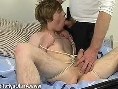Handjob young movies gay Blindfolded, gagged, d and flogged, the man