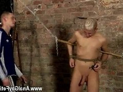 Young boys wet gay Drained Of Cum Through