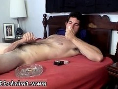 Small boy gay home made sex tube Hunter Smoke Stroke