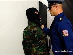PRISON COP BOXING SLAVE