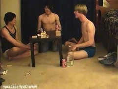 Gay big nuts Trace and William get together with fresh buddy