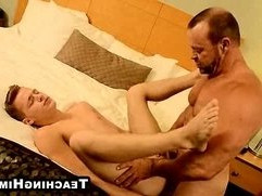 Young hunk Billy London getting ass fucked hard anally