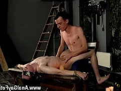 Gay boy seduction The sadomasochistic fellow has his marionette tied